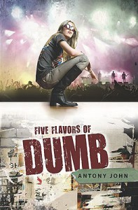 Cover for FIVE FLAVORS OF DEAF